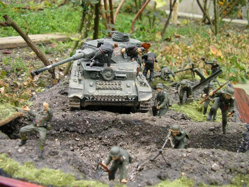 Dioramas and Vignettes: Attack to the Second Line, photo #9