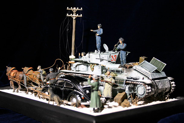 Dioramas and Vignettes: Once Upon a Time Near Moscow