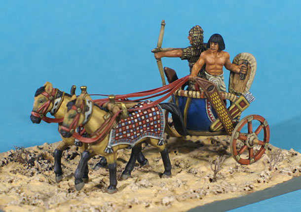 Dioramas and Vignettes: Egyptian chariot