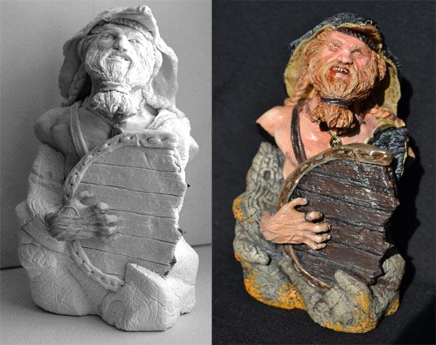 Sculpture: The Berserker