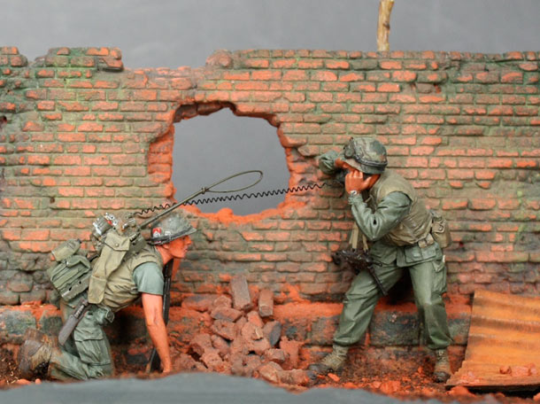 Dioramas and Vignettes: The Wall. Part 4