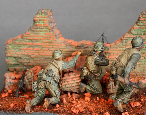 Dioramas and Vignettes: The Wall. Part 3