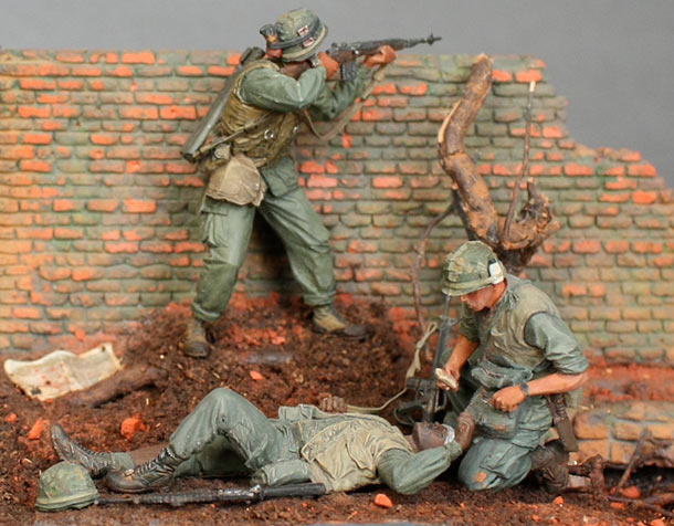 Dioramas and Vignettes: The Wall. Part 2