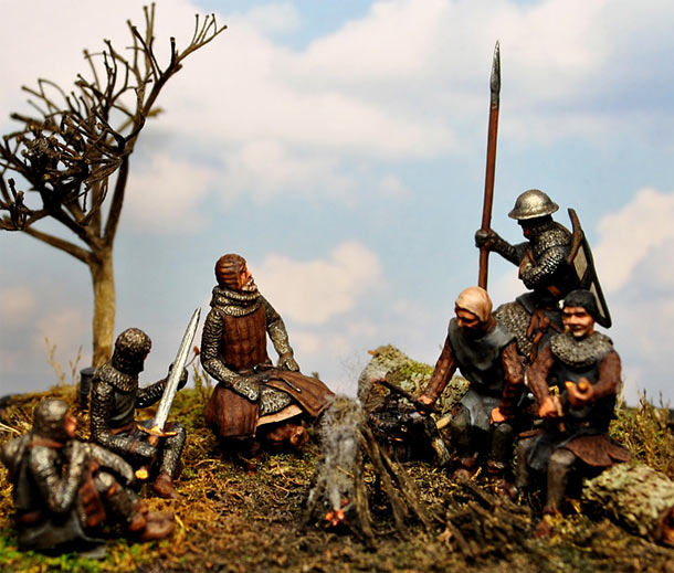 Dioramas and Vignettes: Brothers in Arms