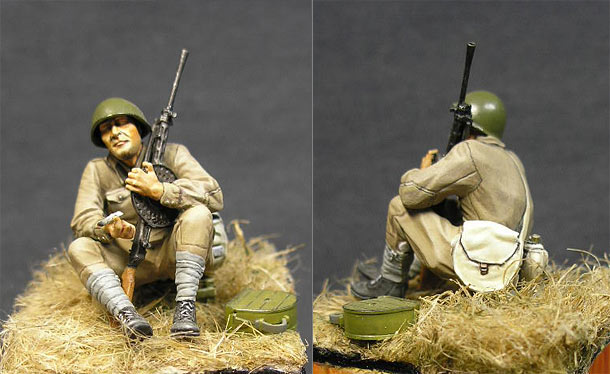 Figures: Red Army trooper, summer 1941