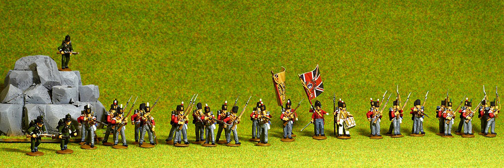 Figures: British line infantry, 1807, photo #1