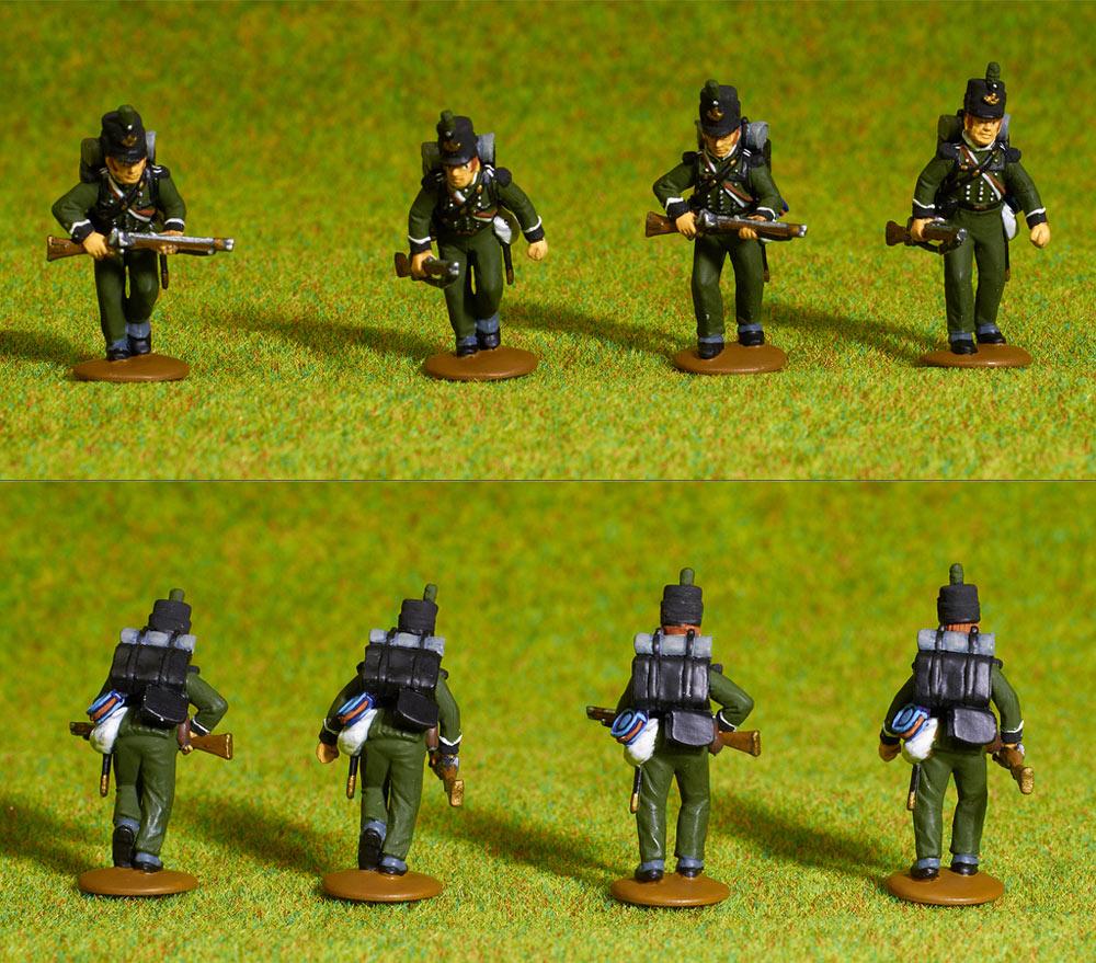 Figures: British line infantry, 1807, photo #2