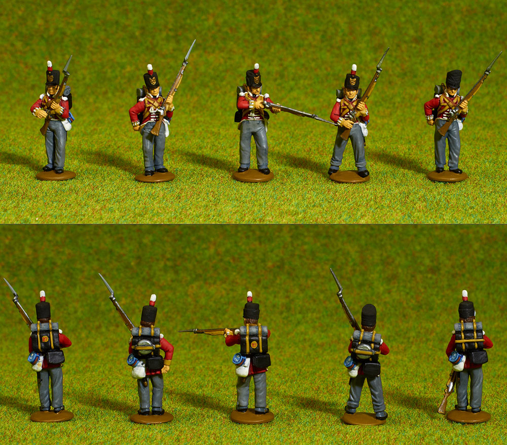 Figures: British line infantry, 1807, photo #3