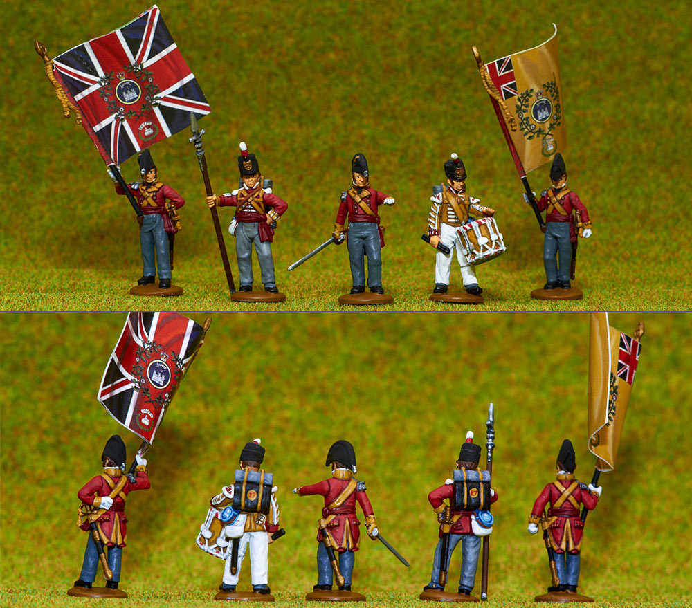 Figures: British line infantry, 1807, photo #4