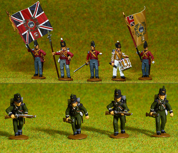 Figures: British line infantry, 1807