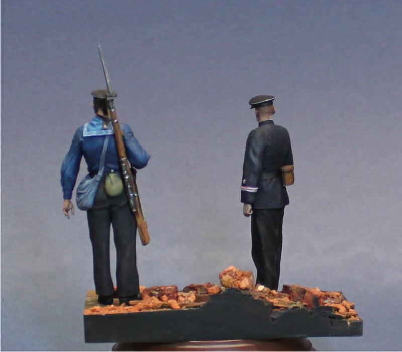 Figures: First days of the war, photo #5