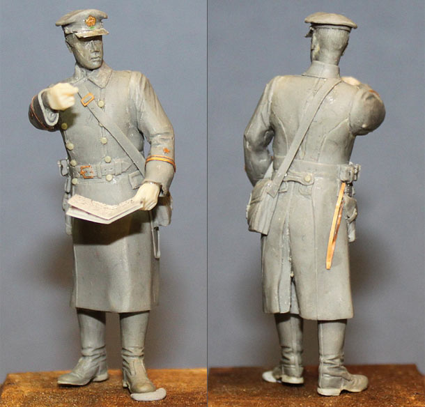 Sculpture: Lieutnant, Soviet Navy, 1939-43