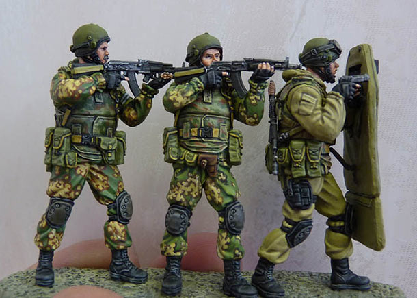 Dioramas and Vignettes: Assault group, Russian Federal Security Service