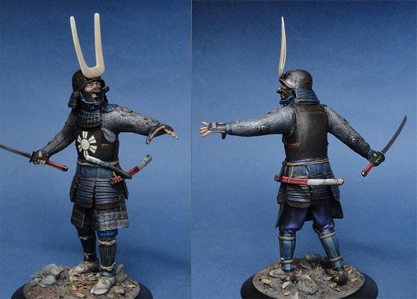 Figures: Samurai warlord