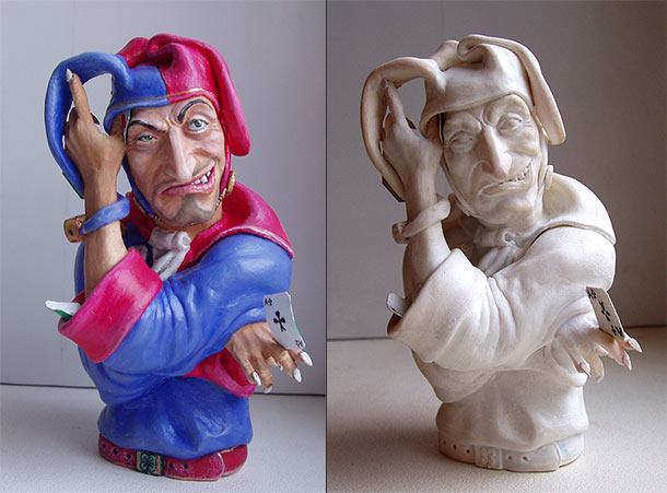 Sculpture: The Joker
