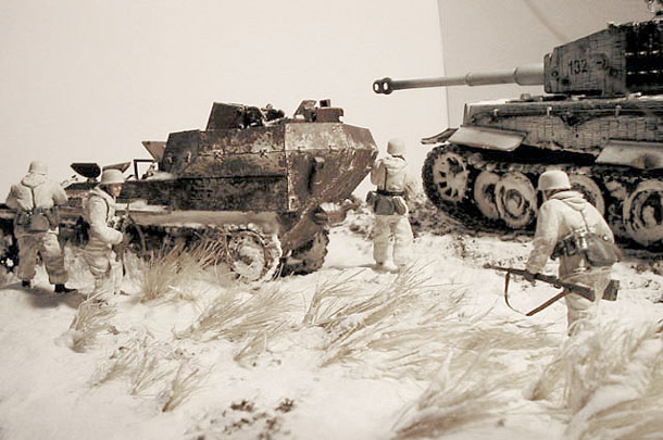 Dioramas and Vignettes: At the Frosty Day
