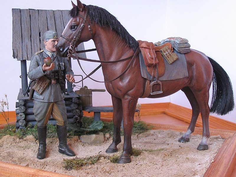 Dioramas and Vignettes: Wehrmacht Cavalry Oberwachtmeister, photo #1