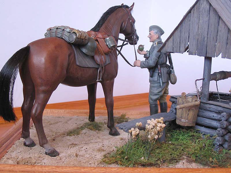 Dioramas and Vignettes: Wehrmacht Cavalry Oberwachtmeister, photo #3