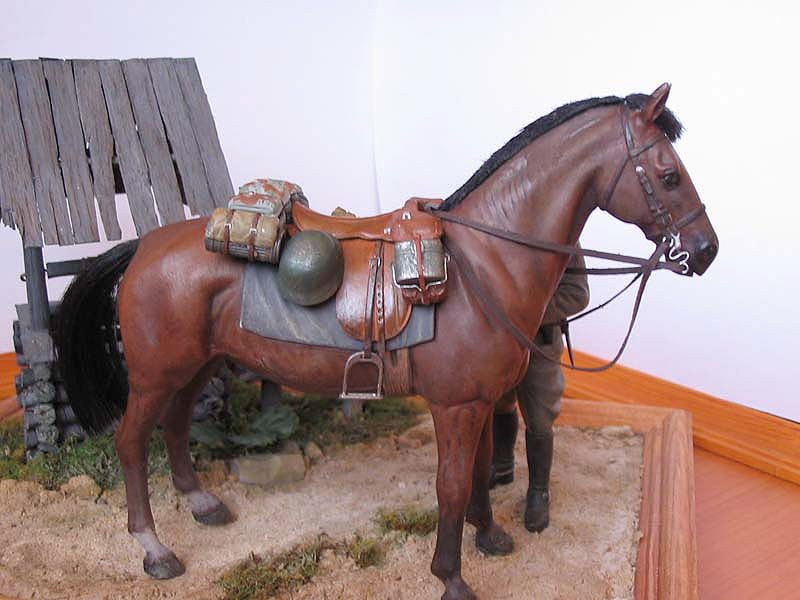 Dioramas and Vignettes: Wehrmacht Cavalry Oberwachtmeister, photo #5