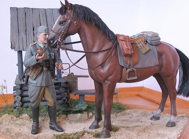 Dioramas and Vignettes: Wehrmacht Cavalry Oberwachtmeister