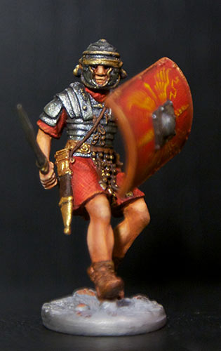 Figures: Romans and Barbarian, photo #1