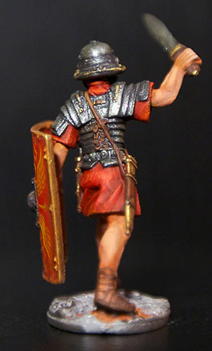 Figures: Romans and Barbarian, photo #10