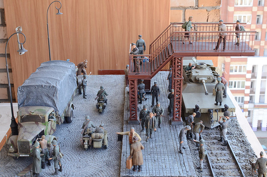 Dioramas and Vignettes: Western Europe, 1944, photo #1