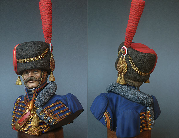 Figures: Captain of Horse Artillery of the Guard, France, 1810
