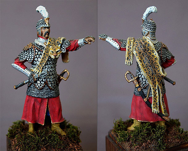 Figures: Polish hussar, XVII century