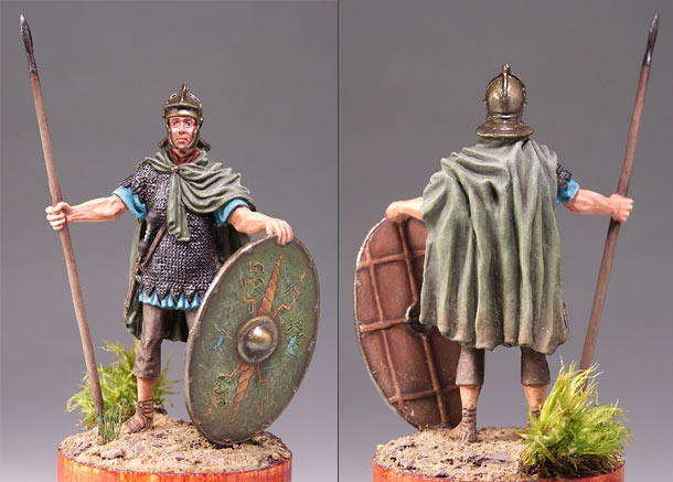 Figures: Roman auxiliary soldier