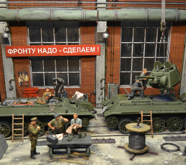 Dioramas and Vignettes: All for front, all for victory! Part 2