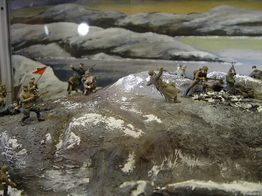 Dioramas and Vignettes: Musta-Tuntouri ridge, 1944, photo #1