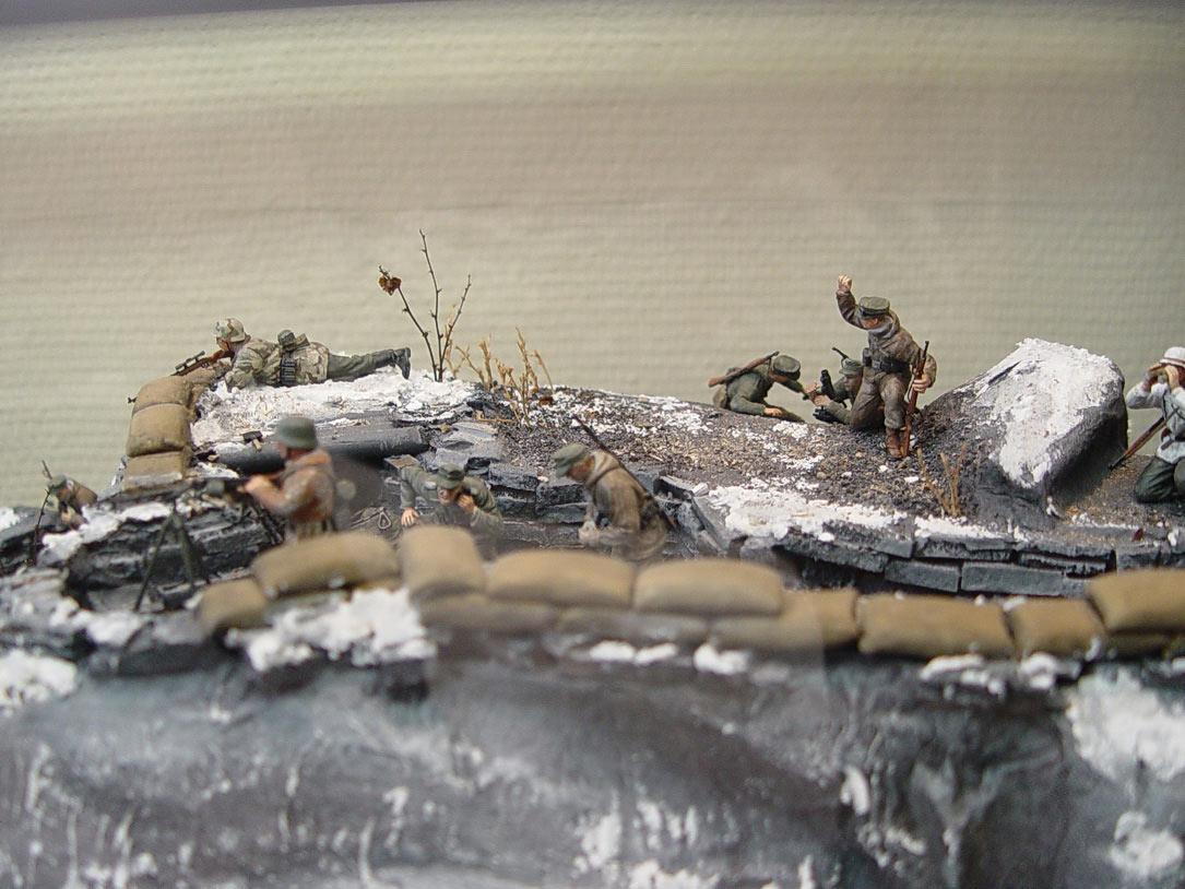 Dioramas and Vignettes: Musta-Tuntouri ridge, 1944, photo #19