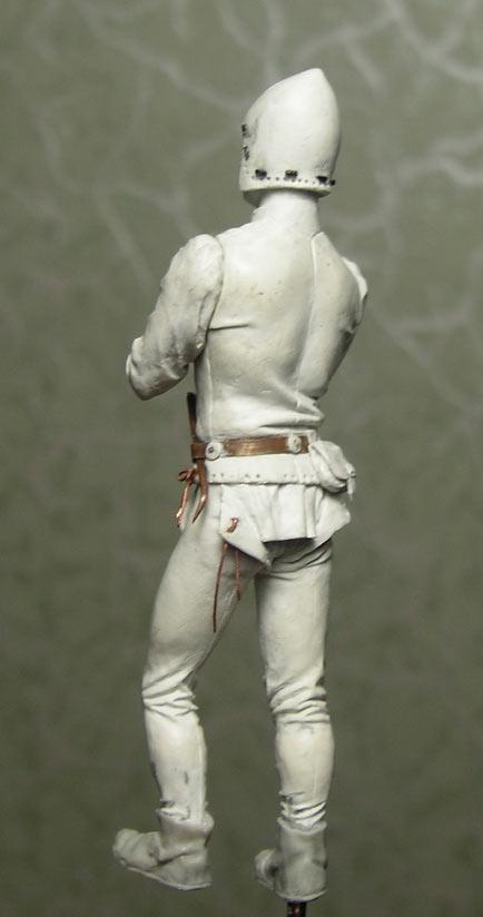 Figures: European artilleryman, 15th A.D., photo #13