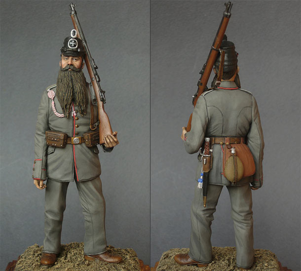 Figures: Landsturmmann, 1914