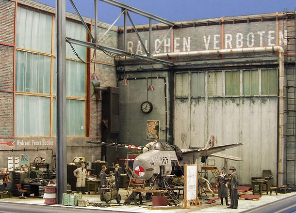 Dioramas and Vignettes: Flugzeugfabrik, 1946