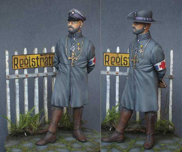 Figures: German army chaplain