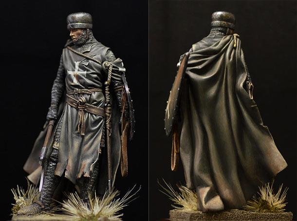 Figures: Hospitalier knight, 13th A.D.