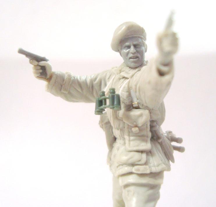 Sculpture: British SAS commander, photo #11