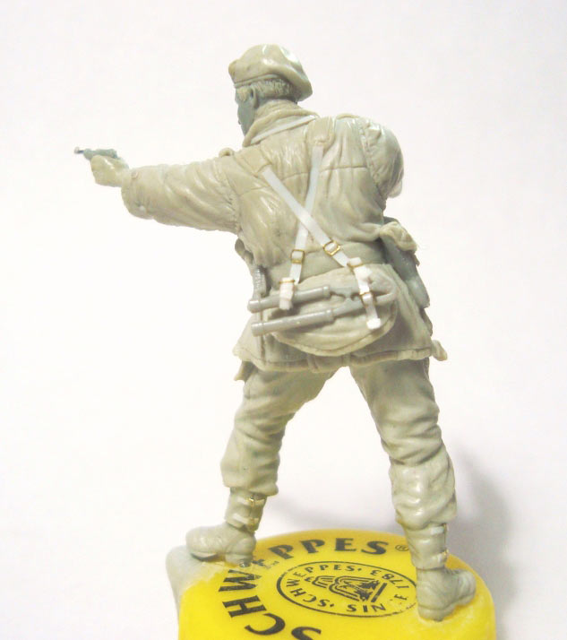 Sculpture: British SAS commander, photo #5
