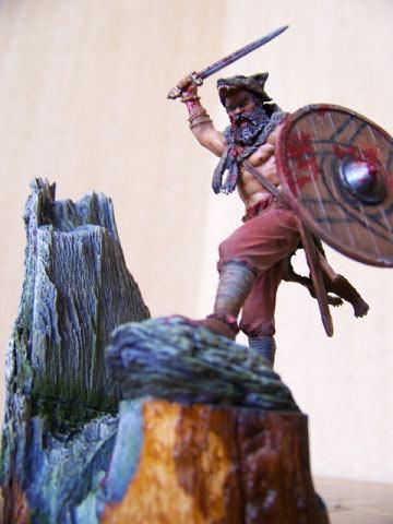 Figures: Berserker viking, photo #5