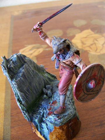 Figures: Berserker viking, photo #9