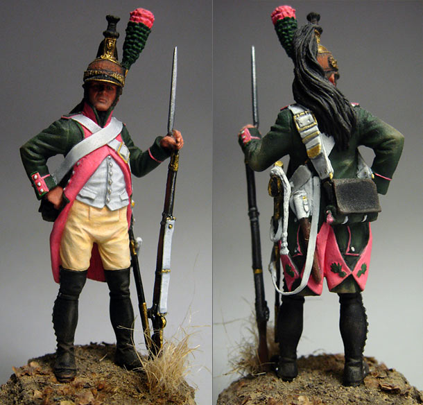 Figures: Dragoon, 18th regt., 1805