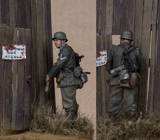 Dioramas and Vignettes: Beware of the dog