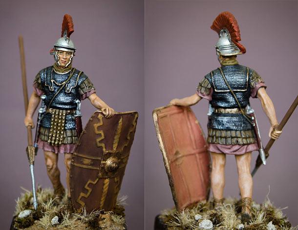 Figures: Roman legionary, I cent. A.D.