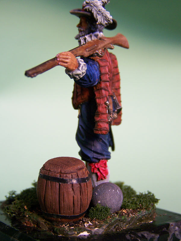Figures: English veteran musketeer, 1588, photo #5