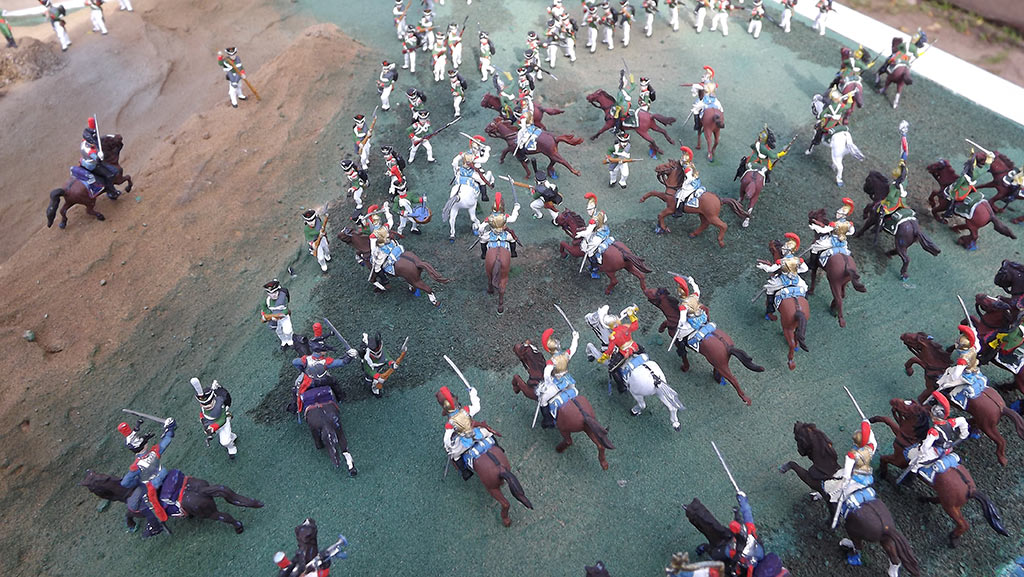 Dioramas and Vignettes: Selenginsk infantry regt. at the battle of Borodino, photo #19