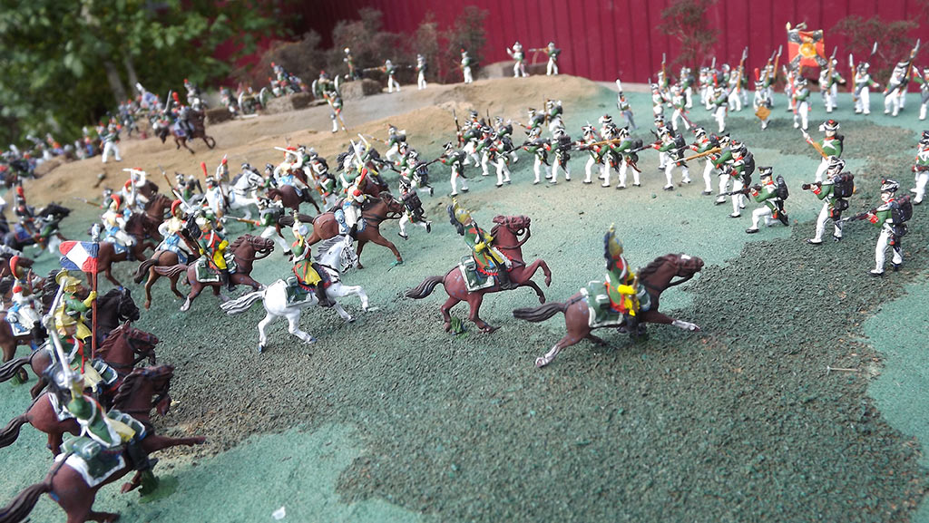 Dioramas and Vignettes: Selenginsk infantry regt. at the battle of Borodino, photo #3