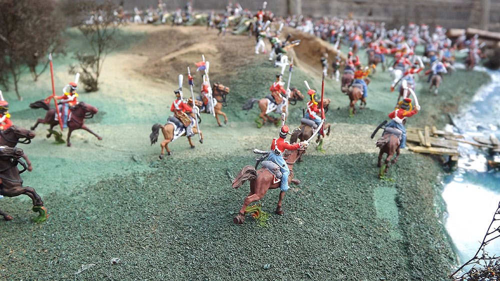 Dioramas and Vignettes: Selenginsk infantry regt. at the battle of Borodino, photo #4