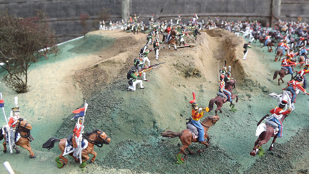 Dioramas and Vignettes: Selenginsk infantry regt. at the battle of Borodino, photo #5